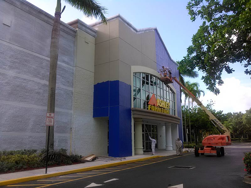 Gallery complete structure painting fort lauderdale fl for Anthony interiors pompano beach