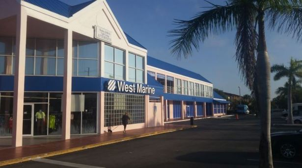 picture of the West Marine commercial building