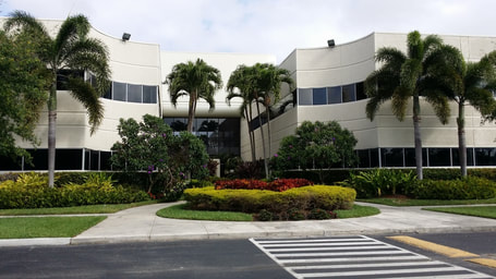 picture of the exterior of a commercial office building in Florida